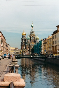St. Petersburg, the one in Russia, where they know from borscht.